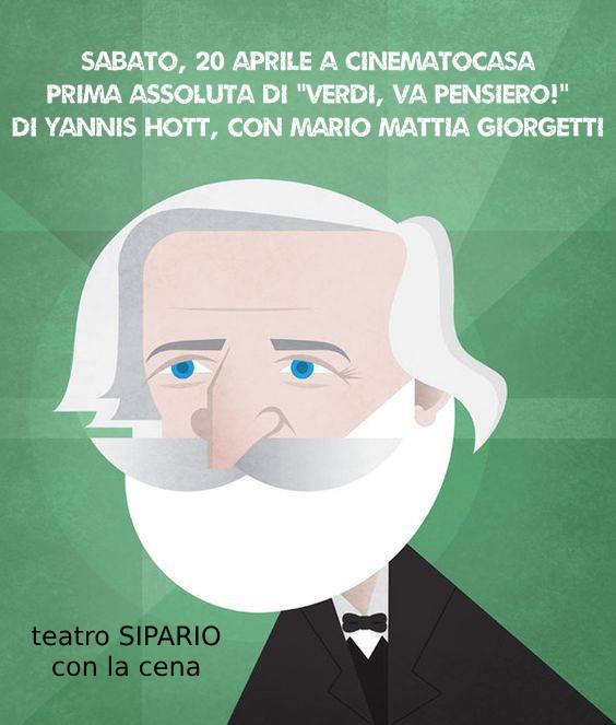 """prima assoluta di """"Verdi, Va pensiero!"""""""